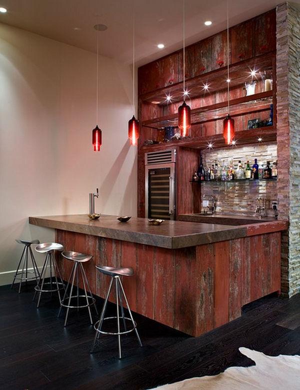 Le tabouret de bar industriel apporte une touche d co dans l 39 int rieur - Moderne lounge en voormalig ...