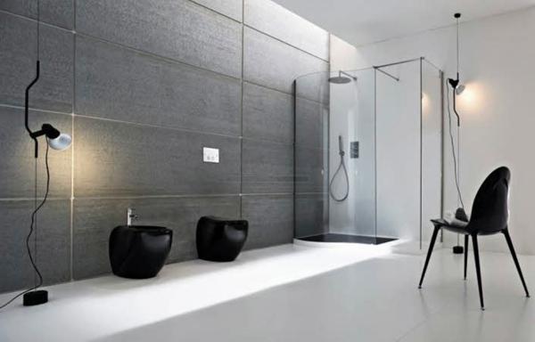 Salle de bain et d co minimaliste 117 photos uniques for Elegant bathroom colors