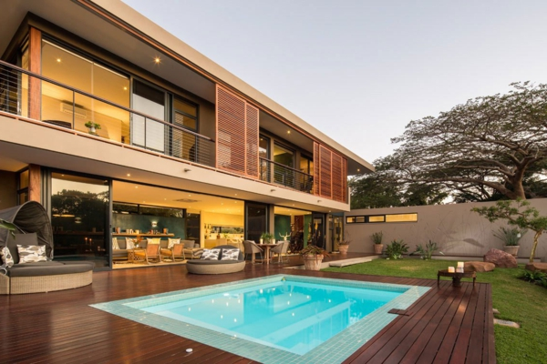 une maison contemporaine exotique en afrique archzinefr