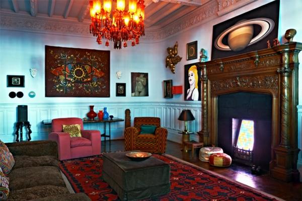 unique-décoration-pour-votre-salon-des-fauteuils-coloré