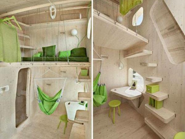 L 39 id e de d co pour studio peut tre super moderne - Petite maison design ...