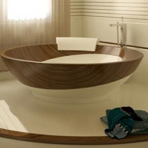 La déco de salle de bain en bois - 107 photos