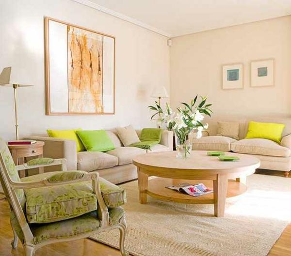 vert-coloré-chambre-avec-une-vase-du-verre