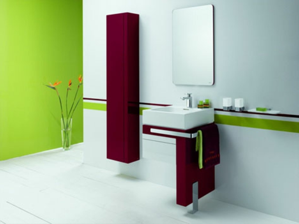 vert-et-rouge-idée-dedécoration-pour-la-maison