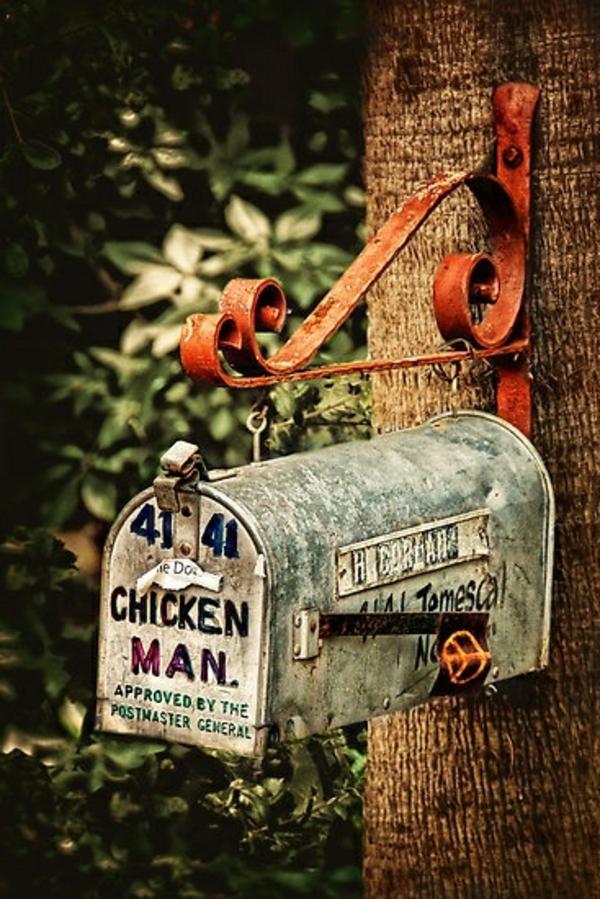 vintage-boîte-postal-pour-la-maison