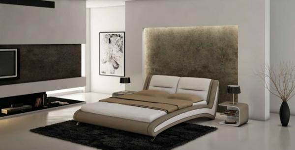 Meubles-chambre-contemporaine-avec-un-lit-en-beige