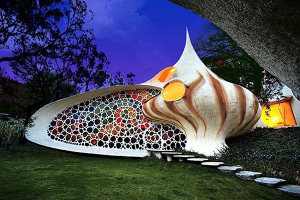 Nautilus-maison-unique-architecture-iréel-forme-et-structure-de-