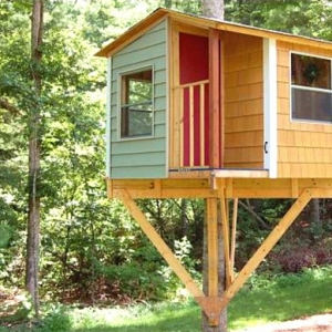 Une cabane dans les arbres pour votre enfant
