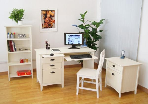 La chaise du bureau en bois rétro moderne archzine.fr