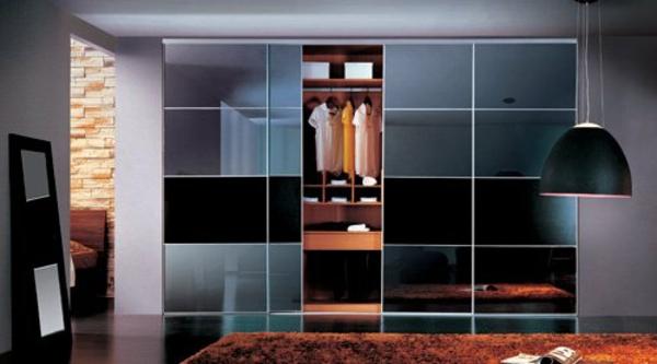 L 39 armoire avec porte coulissante pour la chambre a coucher - Faire porte coulissante ...