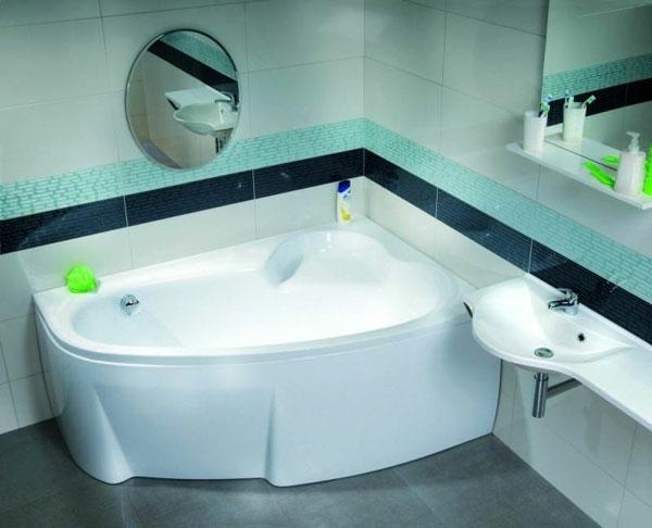 baignoire-asymétrique-baignoire-blanche-d'angle