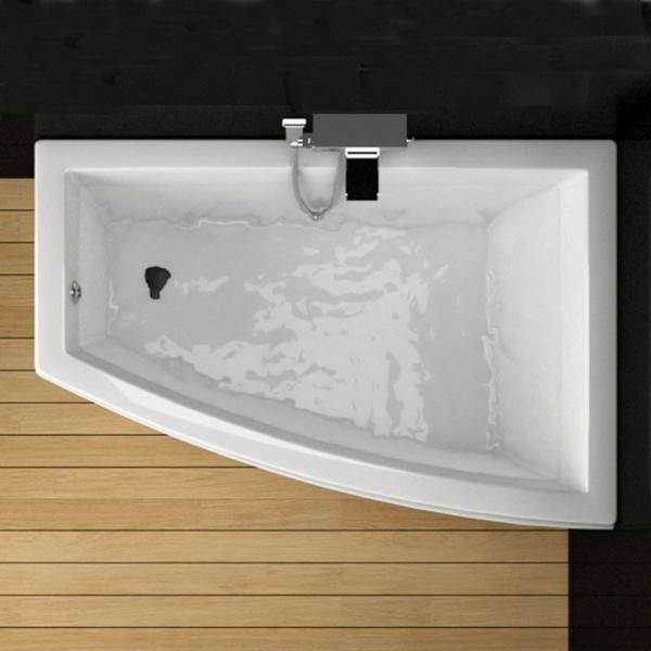mod les de baignoire asym trique. Black Bedroom Furniture Sets. Home Design Ideas