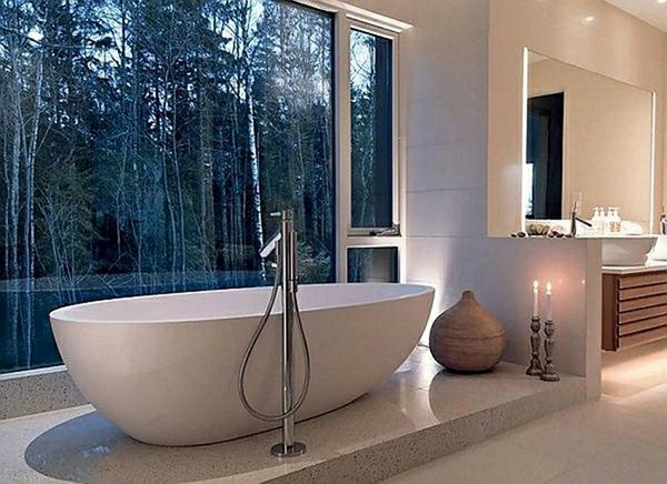 baignoire-asymétrique-jolie-baignoire-blanche