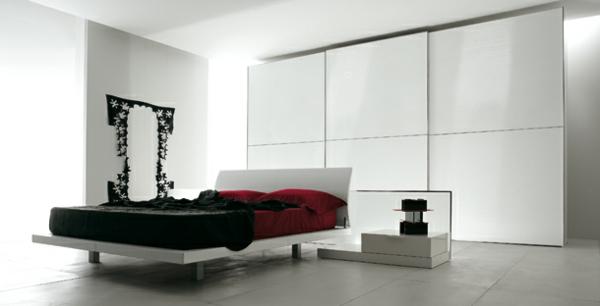 Chambre a coucher ultra moderne pr l vement for Chambre ultra moderne