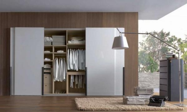 blanc garde robe unique porte coulissante de placard la porte coulissante de placard sur mesure