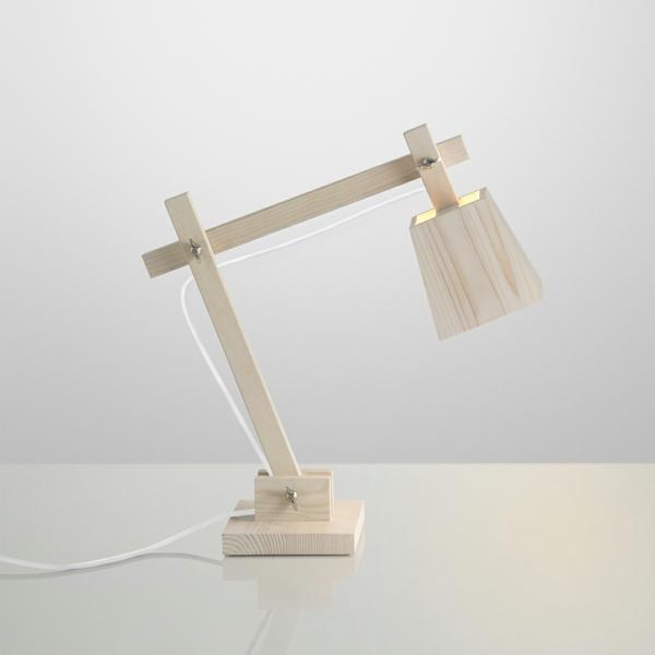 blanche-lampe-en-bois-unique