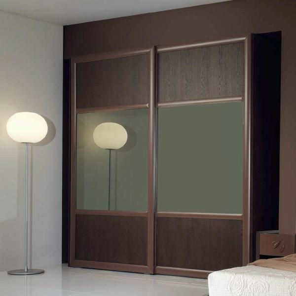 L 39 armoire avec porte coulissante pour la chambre a - Armoire murale porte coulissante ...