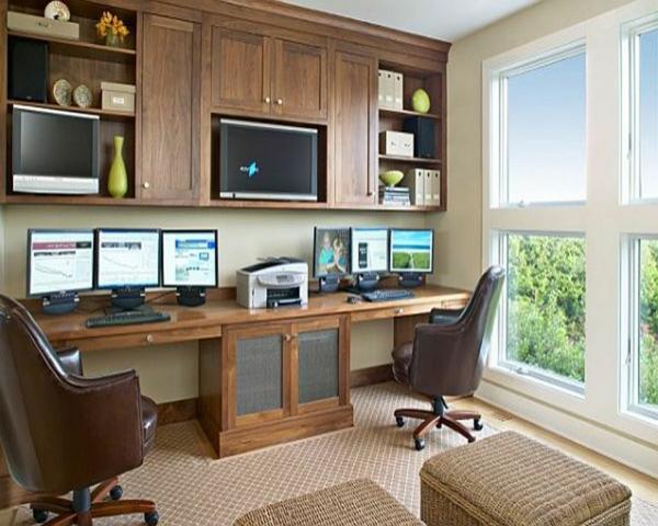bureau-unique-convenable-por-votre-maison-avec-beaucoup-des-armoir