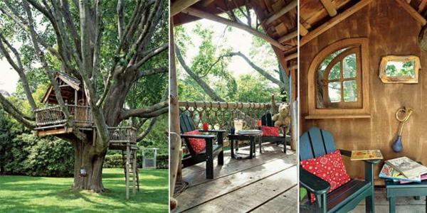 Une cabane dans les arbres pour votre enfant - Comment faire une cabane dans sa chambre ...