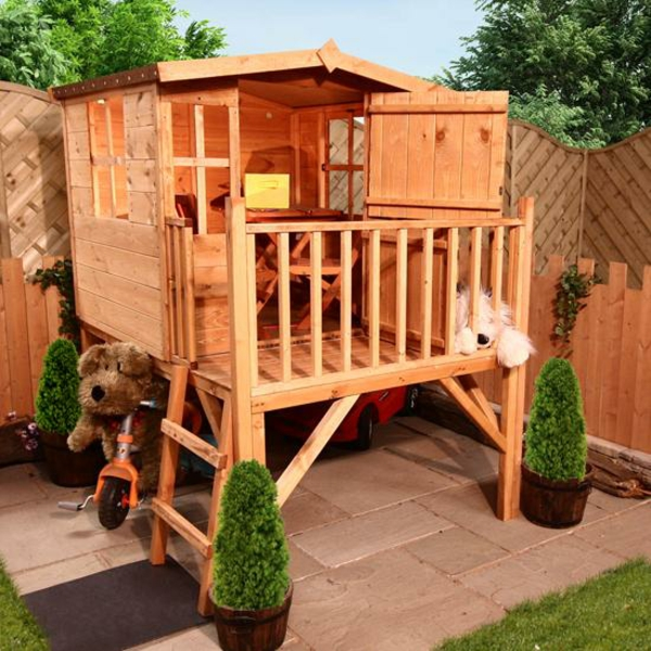 cabane-de-jardin-pour-enfant-cabane-d'enfant-surélevée