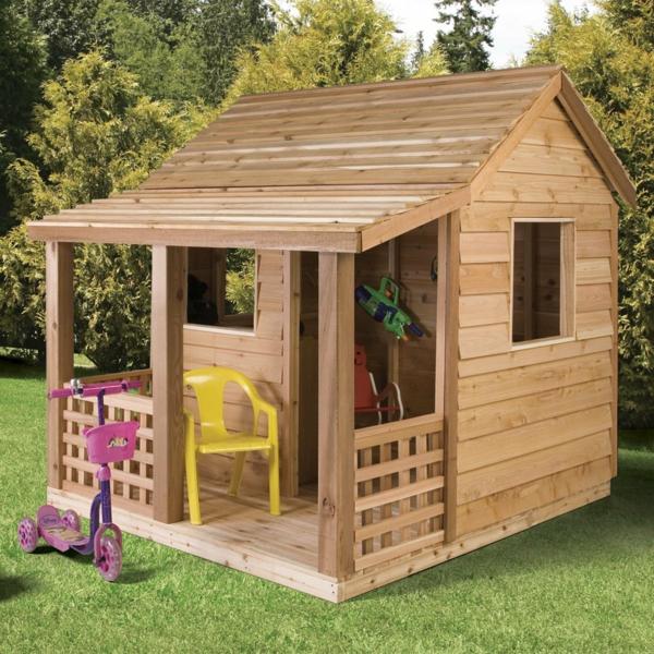 La cabane de jardin pour enfant est une id e superbe pour for Cabane de jardin en bois design