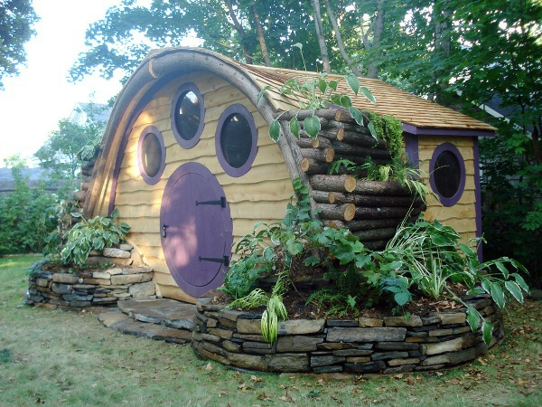 La Cabane De Jardin Pour Enfant Est Une Ide Superbe