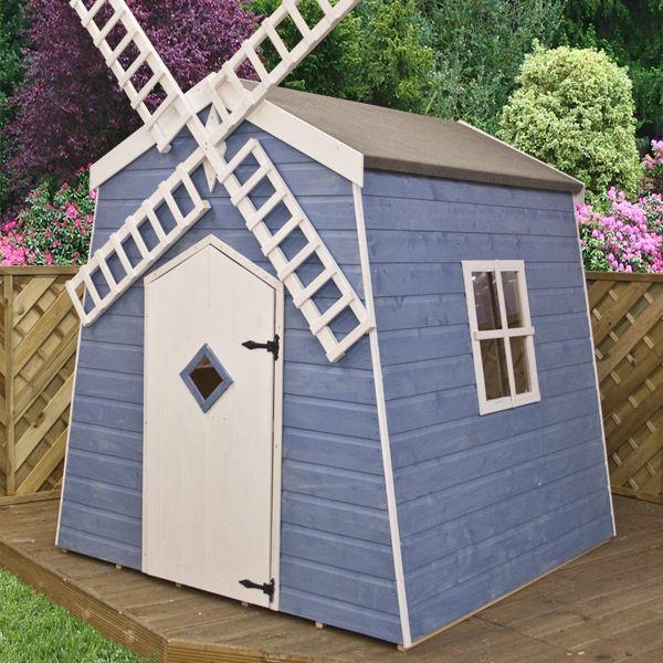 La cabane de jardin pour enfant est une id e superbe pour votre jardin - Cabanes de jardin originales ...