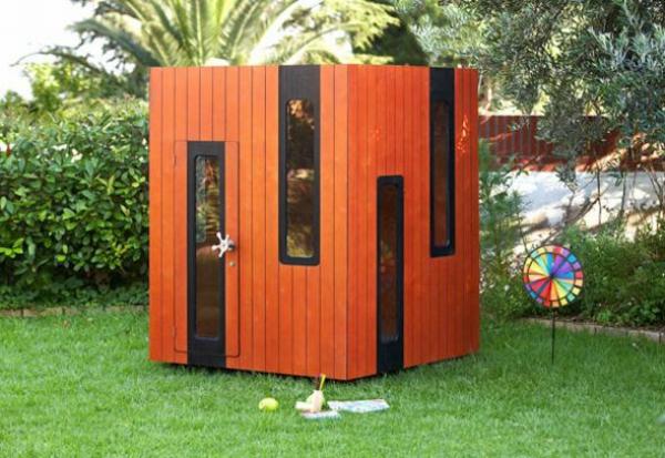 cabane-de-jardin-pour-enfant-design-rouge-cubique