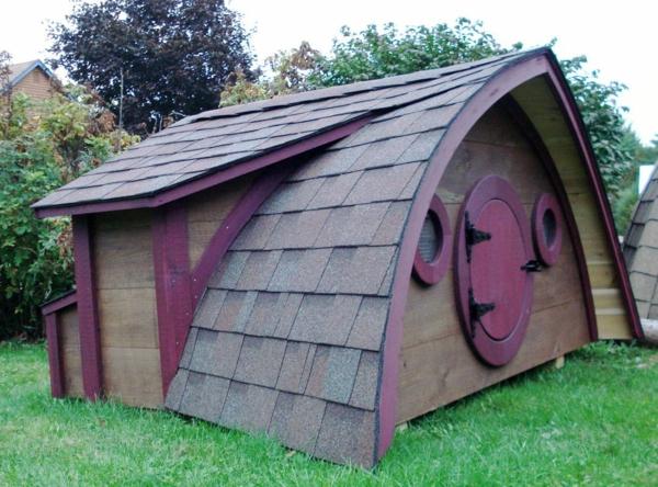 La cabane de jardin pour enfant est une id e superbe pour - Cabane de jardin originale ...