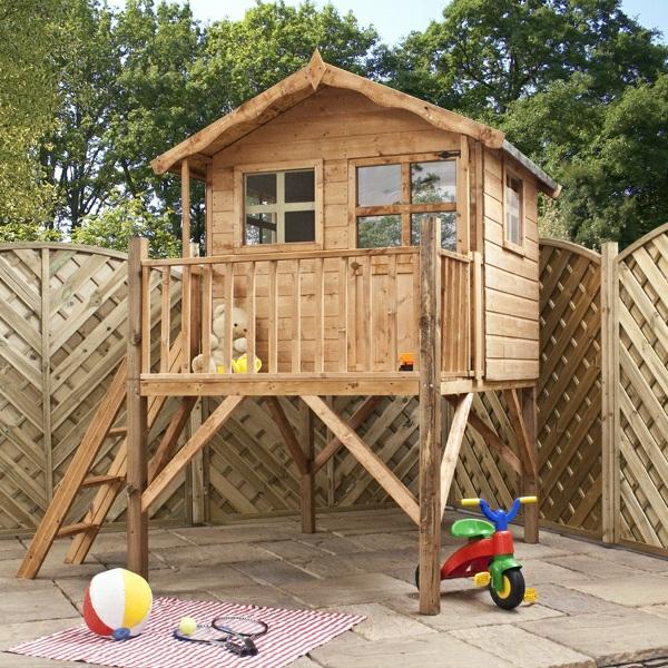 La cabane de jardin pour enfant est une id e superbe pour for Cabane de rangement pour jardin