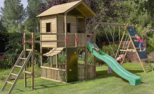 La cabane de jardin pour enfant est une id e superbe pour - Construire une cabane de jardin pour enfant ...