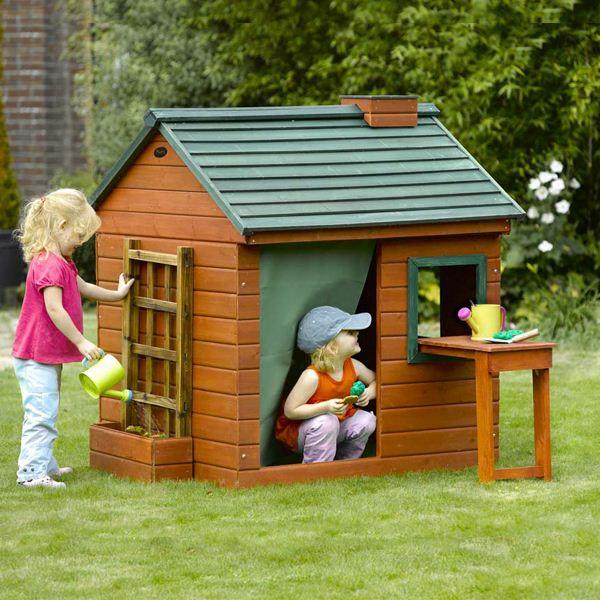 Une Cabane De Jardin Pour Enfants