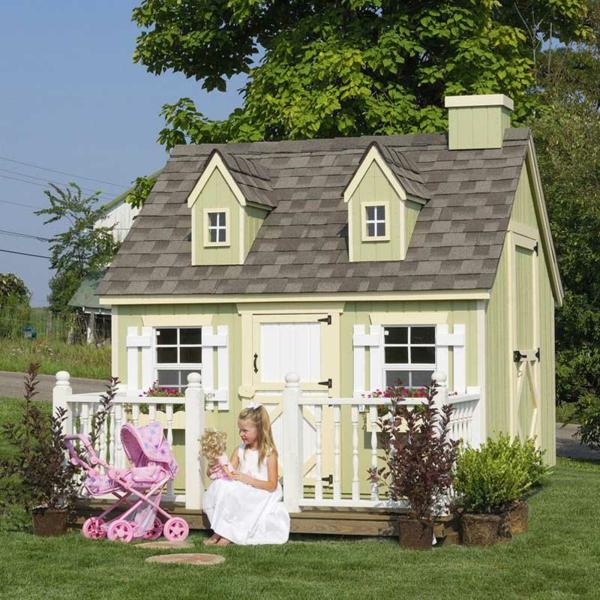 La cabane de jardin pour enfant est une id e superbe pour votre jardin for Cabane de jardin que choisir