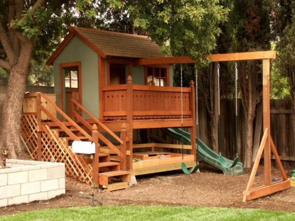 la cabane de jardin pour enfant est une id e superbe pour votre