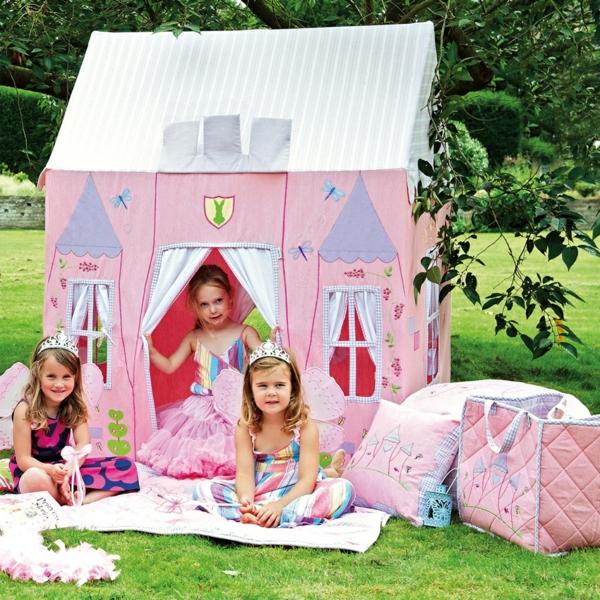 cabane-de-jardin-pour-enfant-maisonnette-rose-en-textile