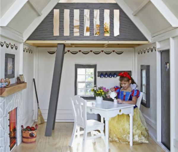cabane-de-jardin-pour-enfant-petite-cabane-enfants-à-deux-niveuax