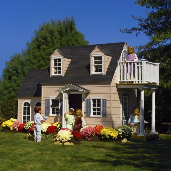 La cabane de jardin pour enfant est une id e superbe pour for Cabane de jardin maison