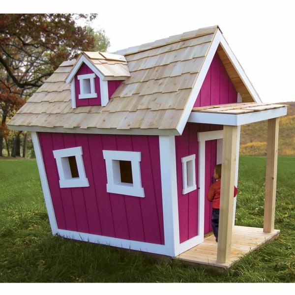La cabane de jardin pour enfant est une id e superbe pour - Maison de jardin enfant ...