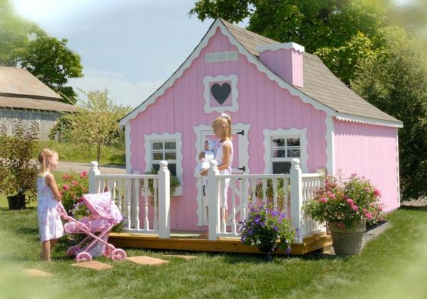 La cabane de jardin pour enfant est une id e superbe pour votre jardin - Maison de jardin pour fille metz ...
