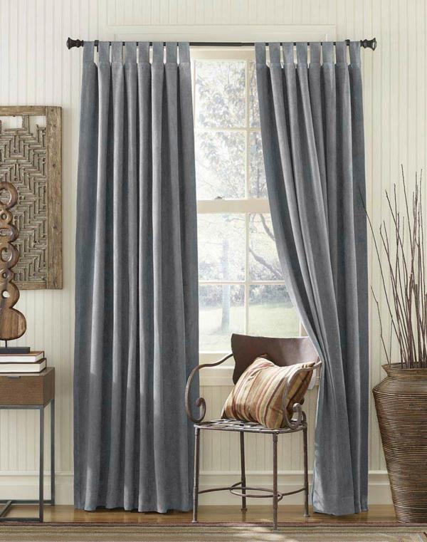 Design avec rideaux du luxe for Rideaux pour salon gris
