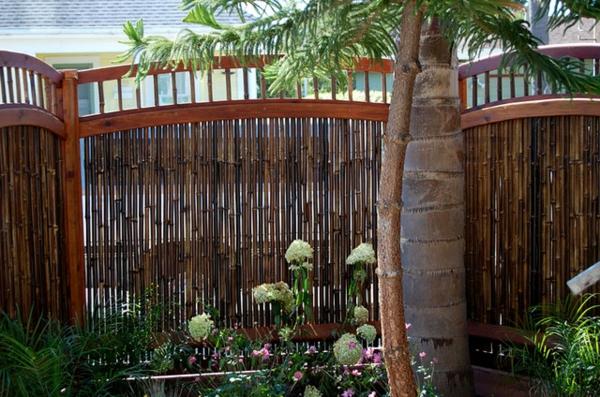 canisse-bambou-encloisonnement-de-matériaux-éco