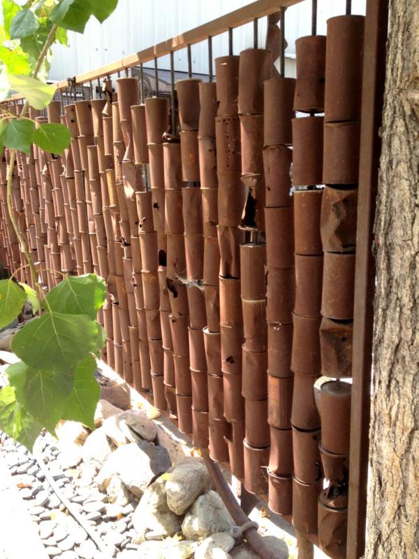 awesome palissade jardin originale ideas. Black Bedroom Furniture Sets. Home Design Ideas