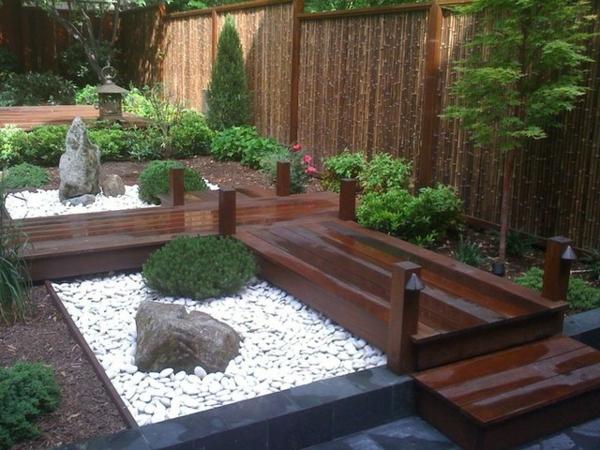 Salon De Jardin En Bambou Photos De Conception De Maison