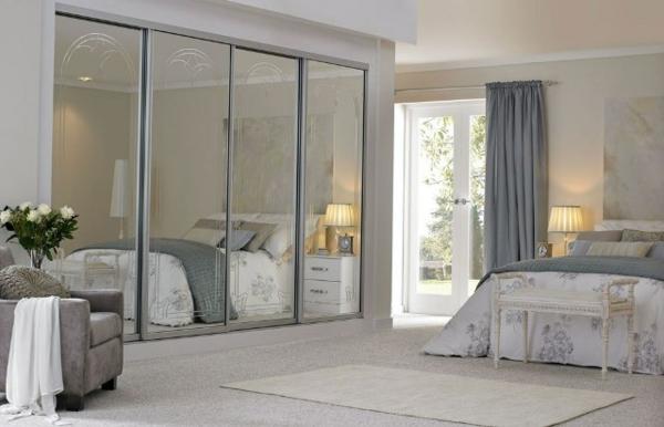 chambre-à-coucher-vintage--porte-coulissante-de-placard-en-mesure