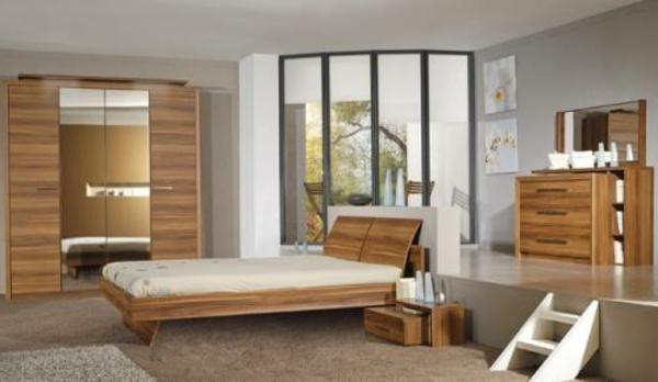 Moderne chambre à coucher complète