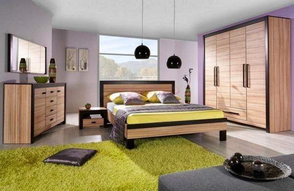 chambre-a-coucher-complète-avec-un-tapis-en-vert-que-vousallez-découvrur-avec-votre-décoration