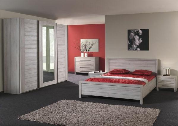 chambre-a-coucher-complète-en-rouge-mur