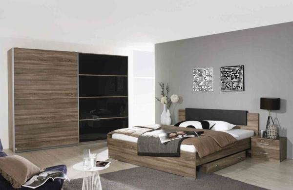 Chambre A Coucher Complete Coloris Blanc : Chambre a coucher avec grande armoire complete