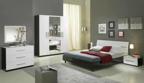 chambre-a-coucher-complete-avec-un-mur-en-gris-et-ameublement-avec-un-lit-et-