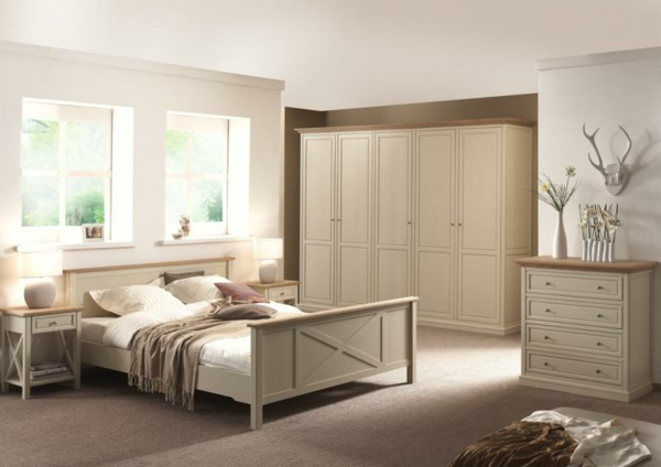 Couleur beige chambre a coucher for Chambre complete moderne